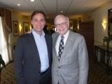 Oliver Krautscheid und Warren Buffet in Omaha